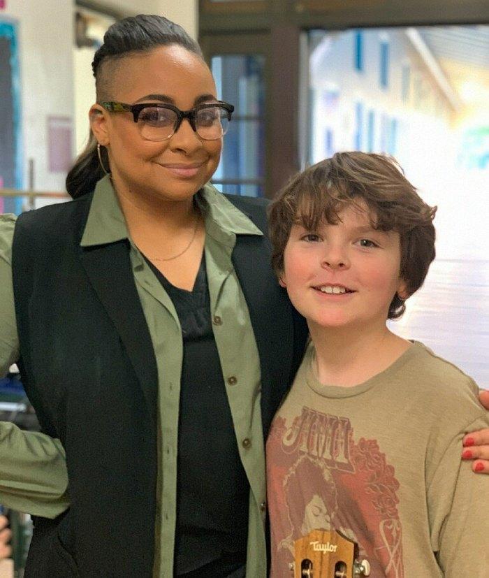 Raven-Symoné and Tommy Ragen