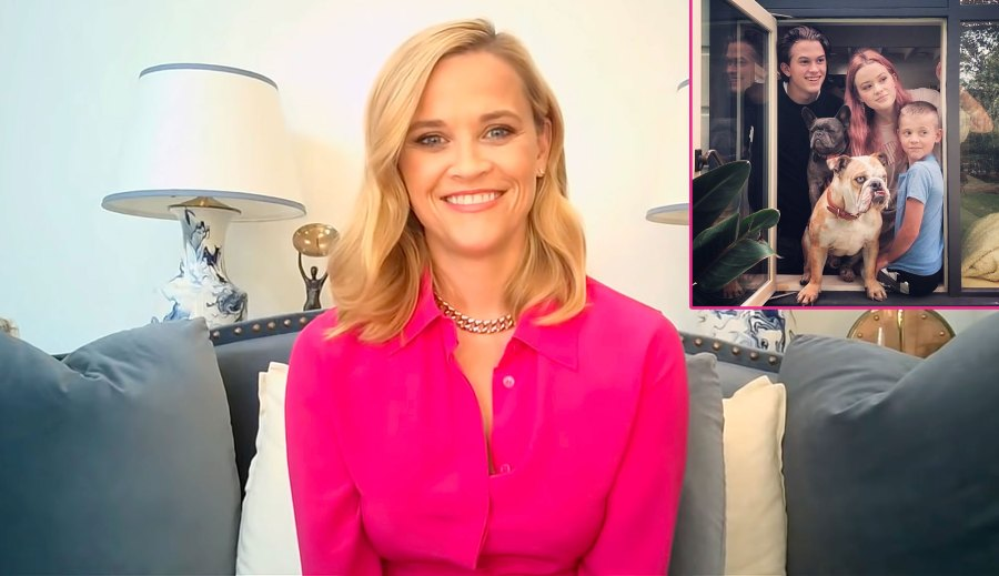 Reese Witherspoon Jokes Its Her Job to Embarrass 3 Kids