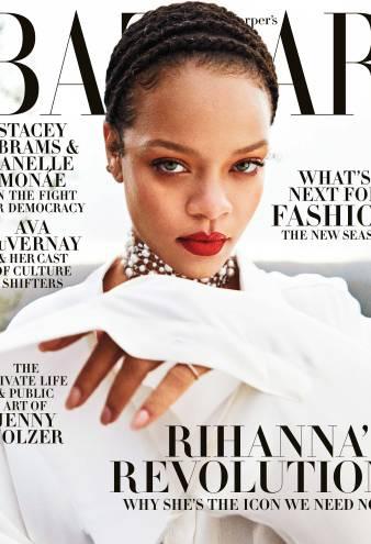 Rihanna Covers 26 International Harper's Bazaar September Issues