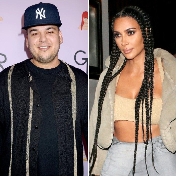 Rob Kardashian Trolls Kim Kardashian for Using Scarface Quote as Photo Caption