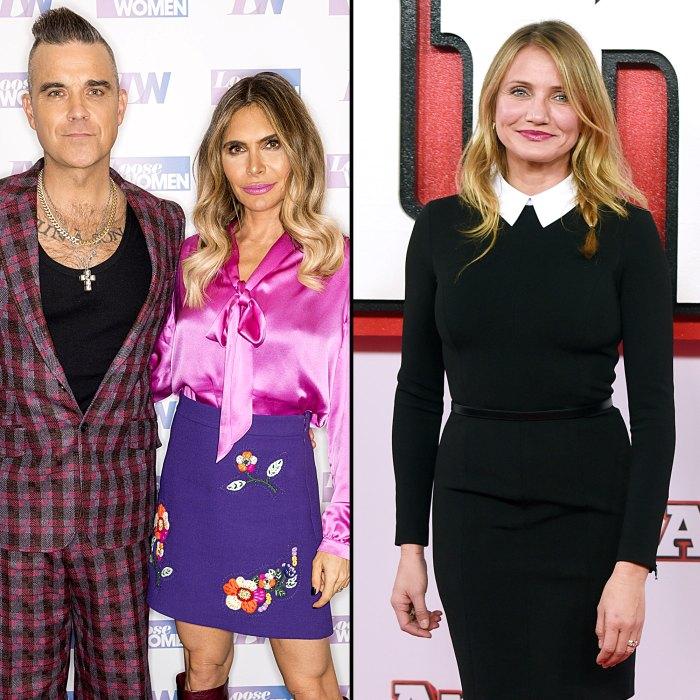 Robbie Williams Cameron Diaz Saved My Relationship With My Wife