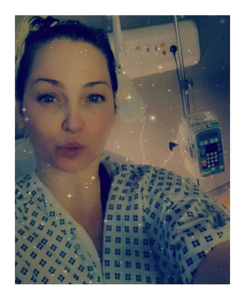 Sarah Harding Breast Cancer