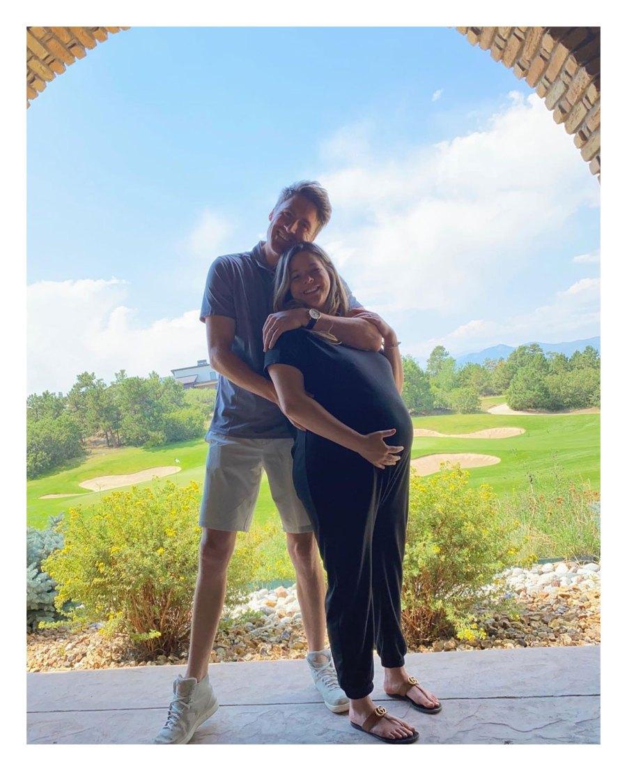 Sasha Pieterse Instagram Inside Pregnant Celeb Babymoons