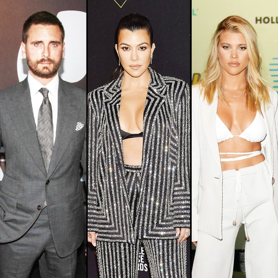 Scott Disick And Kourtney Step Out For Dinner At Same Restaurant As Sofia