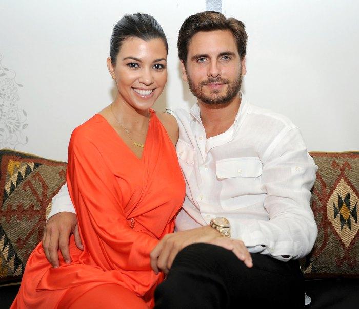 Scott Disick Flirting With Kourtney Kardashian Bothers Sofia Richie