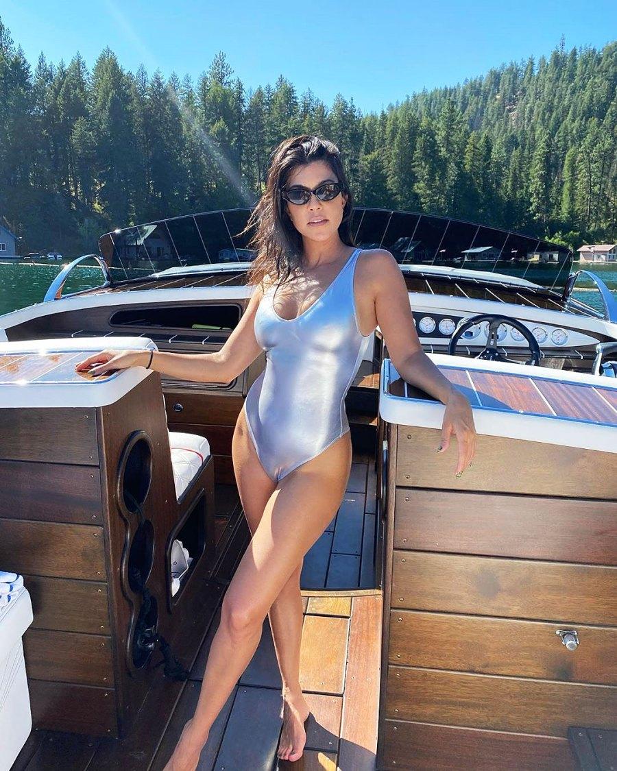 Scott Disick Gets Flirty After Kourtney Kardashian Posts Swimsuit Pic