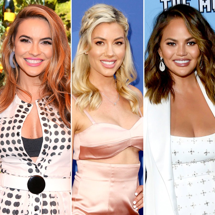 Selling Sunset's Chrishell Stause Heather Rae Young and More Stars Respond to Chrissy Teigen Diss