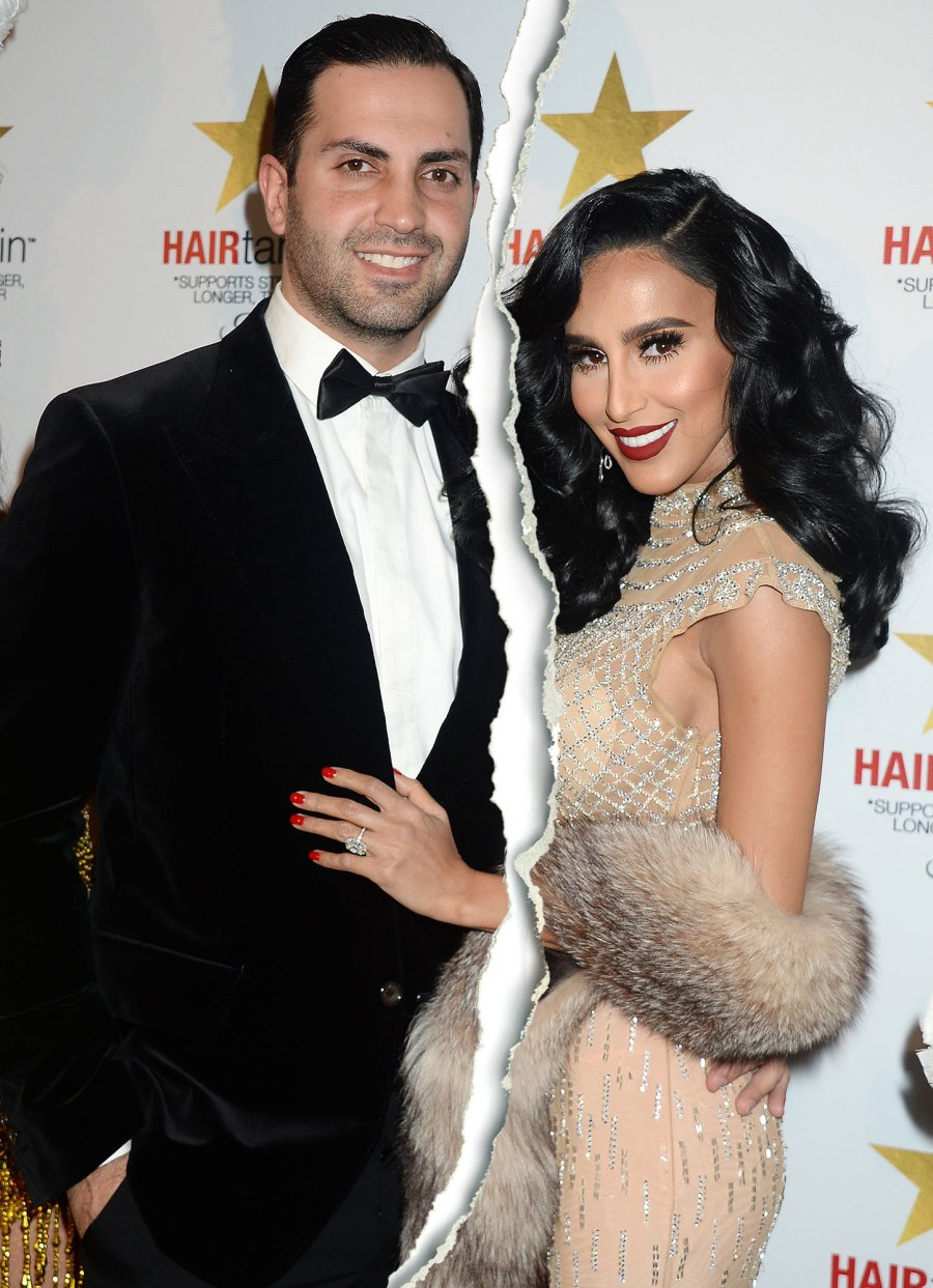 Shahs of Sunset Lilly Ghalichi Files for Divorce From Dara Mir Again Tear