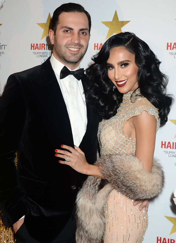 Shahs of Sunset Lilly Ghalichi Files for Divorce From Dara Mir Again