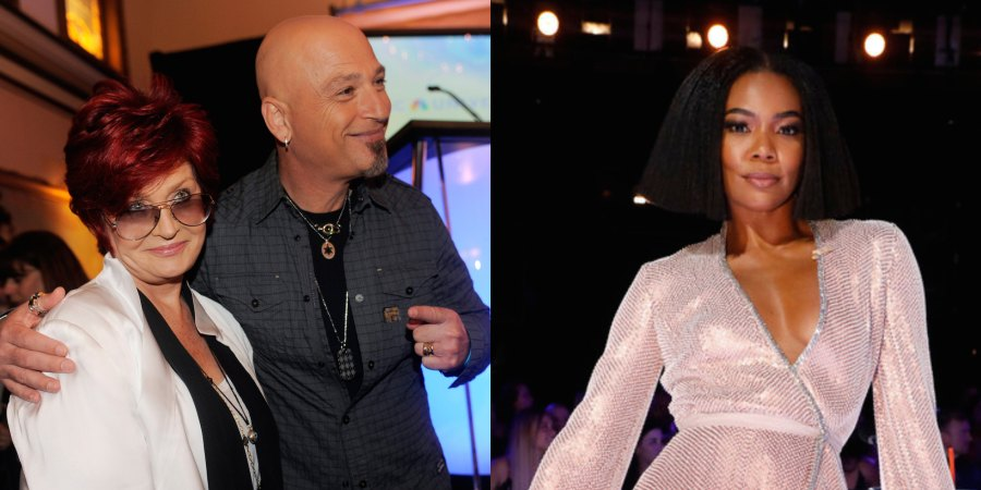 Sharon Osbourne Howie Mandel Gabrielle Union AGT Judges Through the Years