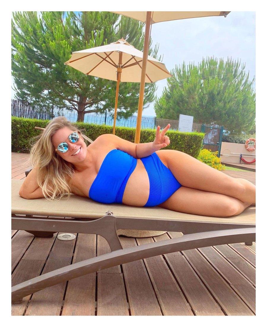 Shawn Johnson East Instagram Inside Pregnant Celeb Babymoons