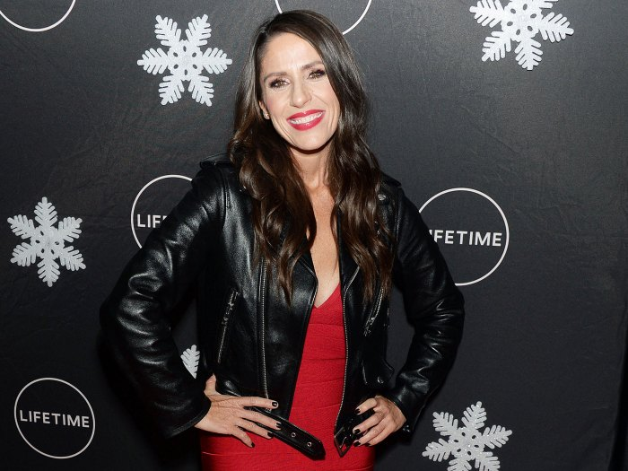 Soleil Moon Frye Wearing a Red Dress and Leather Jacket Soleil Moon Frye 25 Things You Dont Know About Me