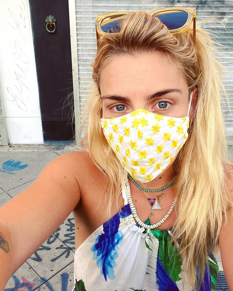 We Found Busy Philipps' Exact Designer Face Mask Online for $40
