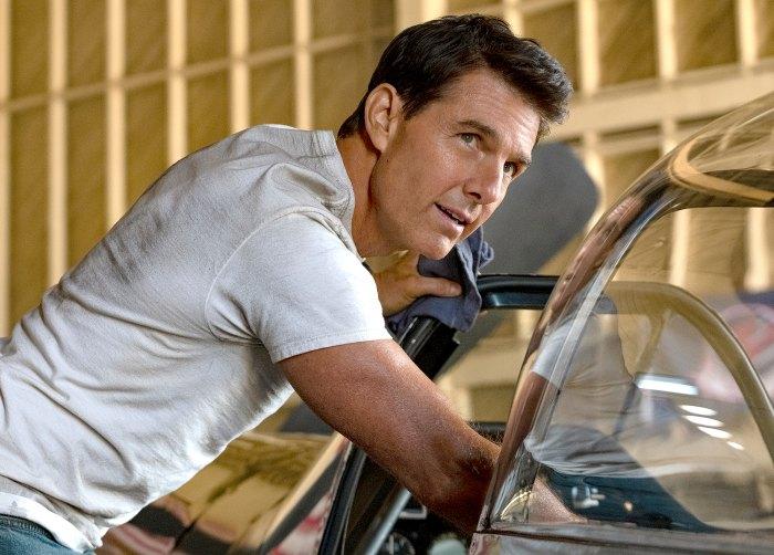 Tom Cruise in Top Gun Maverick