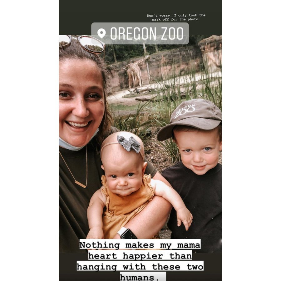 Tori Roloff zoo family photo