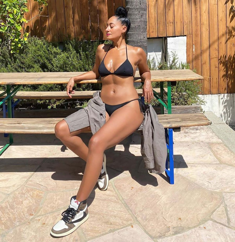 Tracee Ellis Ross Slays in a Bikini for a 'Pool Party' — Without the Pool