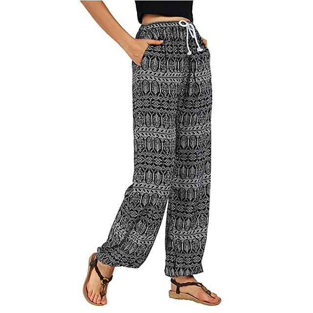 Urban CoCo Women's Boho Yoga Harem Jogger Pants
