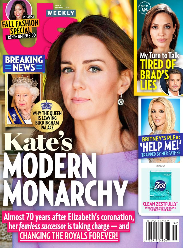 Us Weekly Issue 3620 Cover Duchess Kate