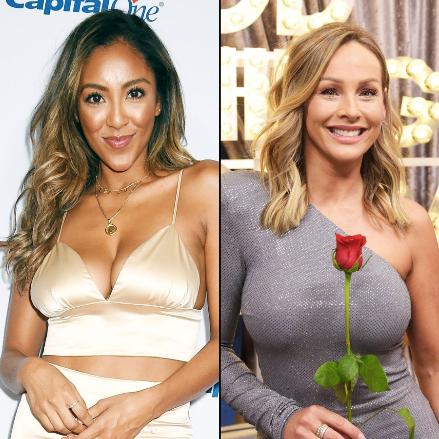 Tayshia Adams and Clare Crawley Why Bachelor Nation Believes Tayshia Adams Is Replacing Clare Crawley As the Season 16 Bachelorette