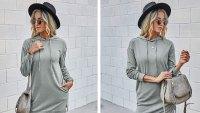 KIRUNDO Long-Sleeve Sweatshirt Dress