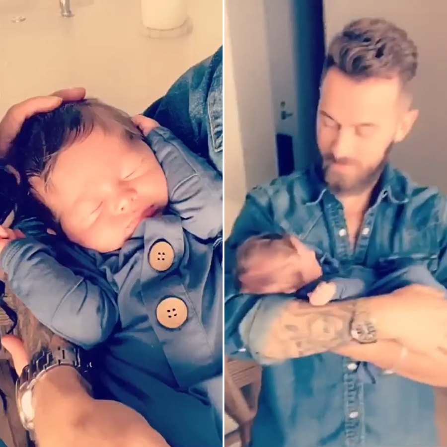 So Sleepy! See Nikki Bella and Artem Chigvintsev's Son Matteo's Baby Album