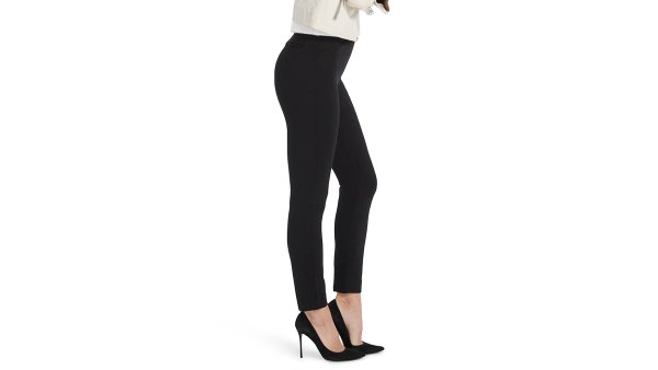 SPANX Perfect Black Pant Back Seam Skinny Pants