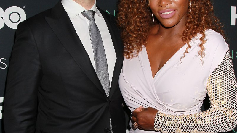 Alexis Ohanian Wears Serena Williams T-Shirt at the Australian Open
