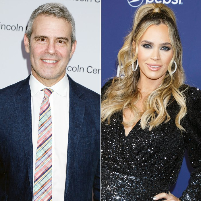 Andy Cohen Says Teddi Mellencamp's 'Real Housewives Of Beverly Hills Exit Had Nothing to Do With Her All In Business Controversy