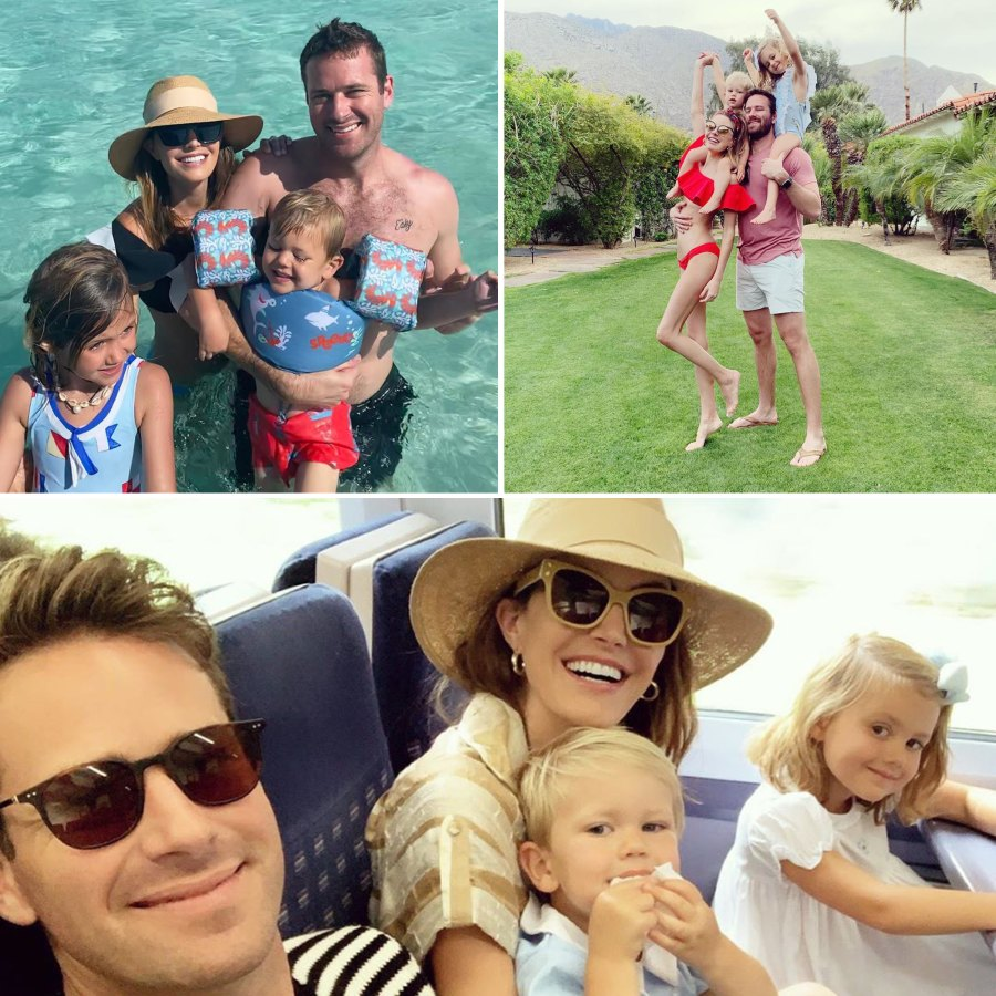 Armie Hammer and Elizabeth Chambers kids cutest moments