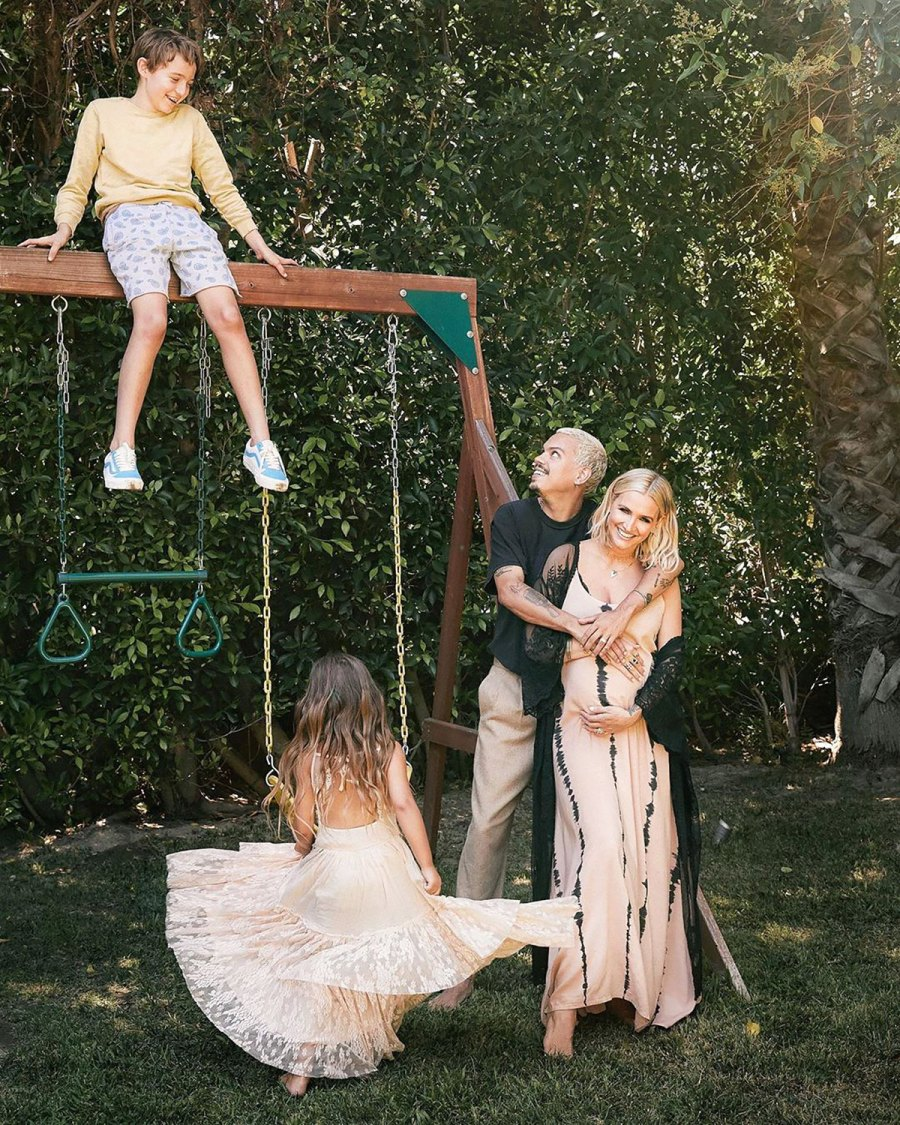 Family Photo! See Ashlee Simpson and Evan Ross' Best Moments With Kids