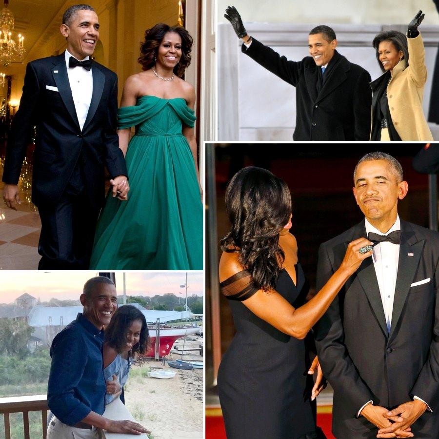 Barack Obama Michelle Obama A Timeline Their Relationship