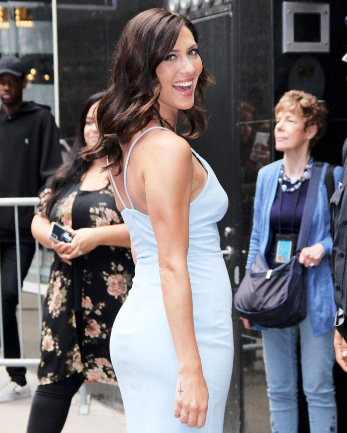 Becca Kufrin arrives at Good Morning America Becca Kufrin Says She is in a Magical Spot After Moving to LA and Splitting From Garrett Yrigoyen
