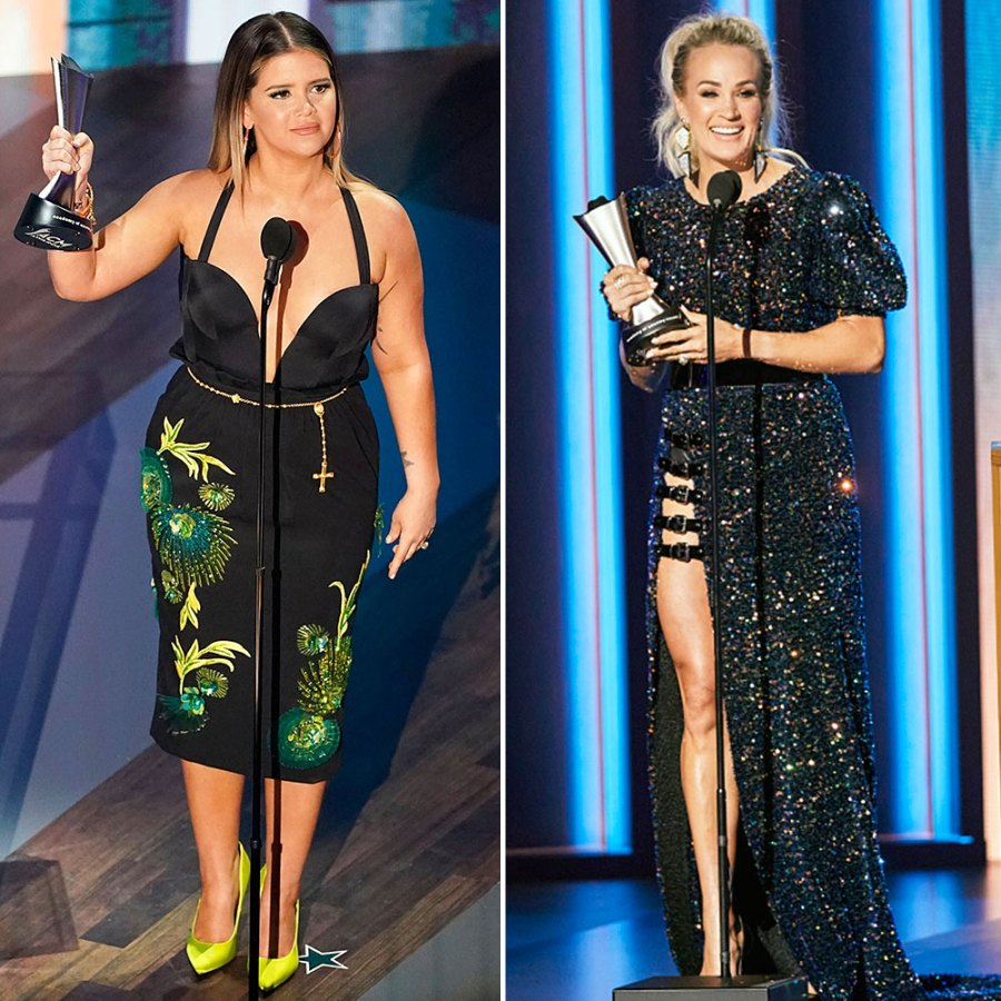 Maren Morris and Carrie Underwood Best Looks at the ACM Awards