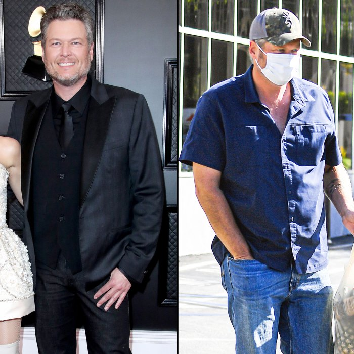 Blake Shelton in January 2020 and September 2020 Blake Shelton Says He Is Trying to Lose Weight After Joking He Gained 117 Pounds During Quarantine