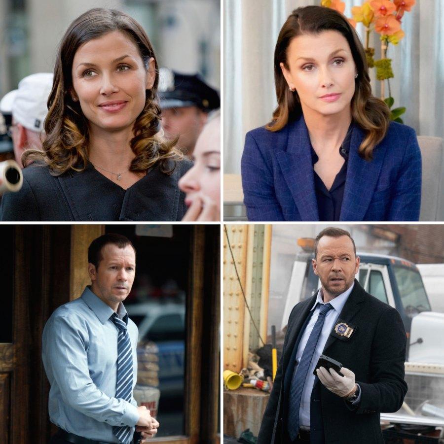 Blue Bloods Cast Season 1 to Now Bridget Moynahan Donnie Wahlberg