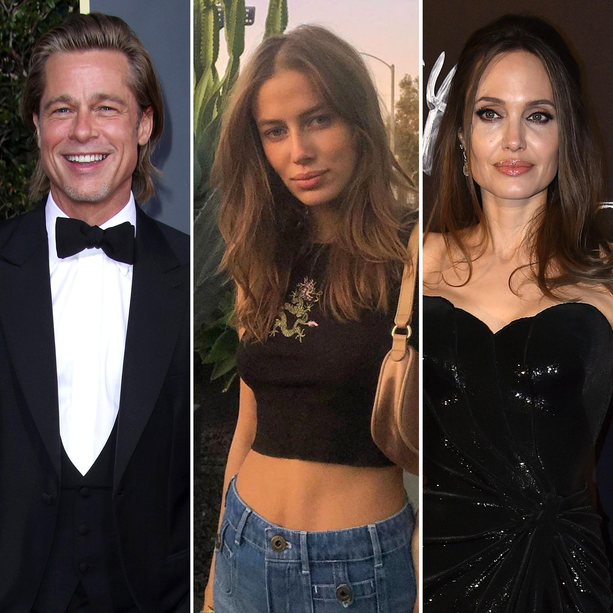 Brad Pitt S Girlfriend Nicole Answers Fan Asking Why She Hates Angelina Jolie
