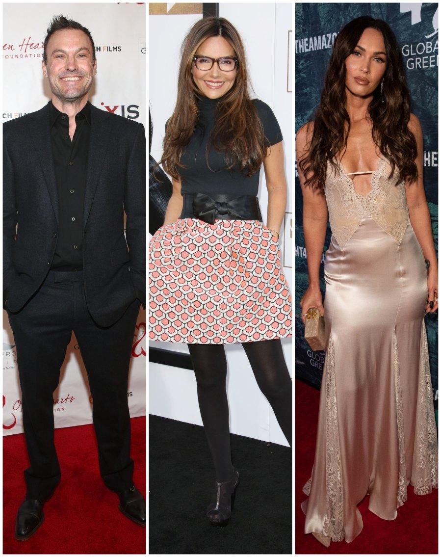 Brian Austin Green's Ex Vanessa Marcil Praises His Estranged Wife Megan Fox for 'Living Life for Herself'