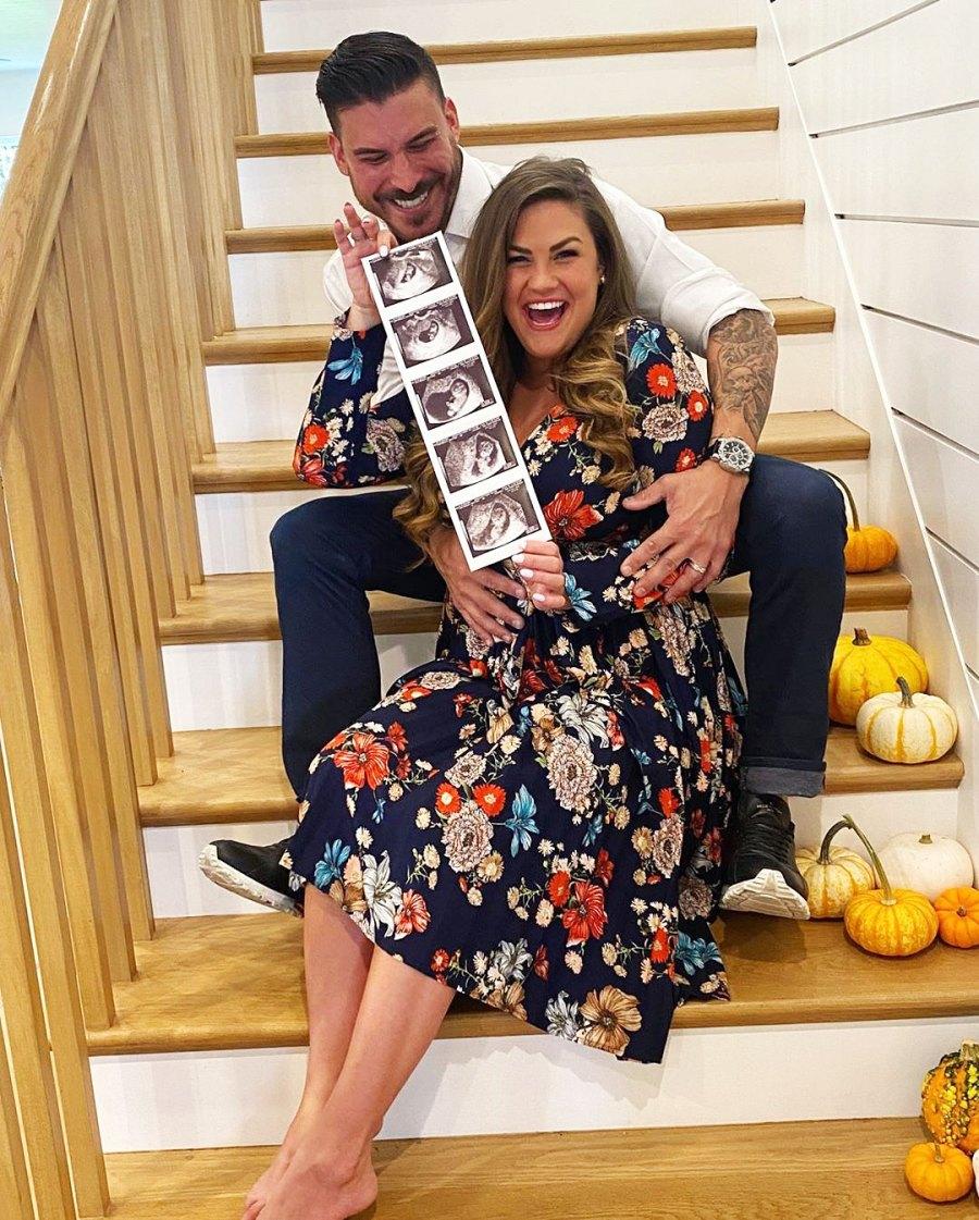 Jax Taylor and Brittany Cartwright Baby Bump Album Pregnancy Pics