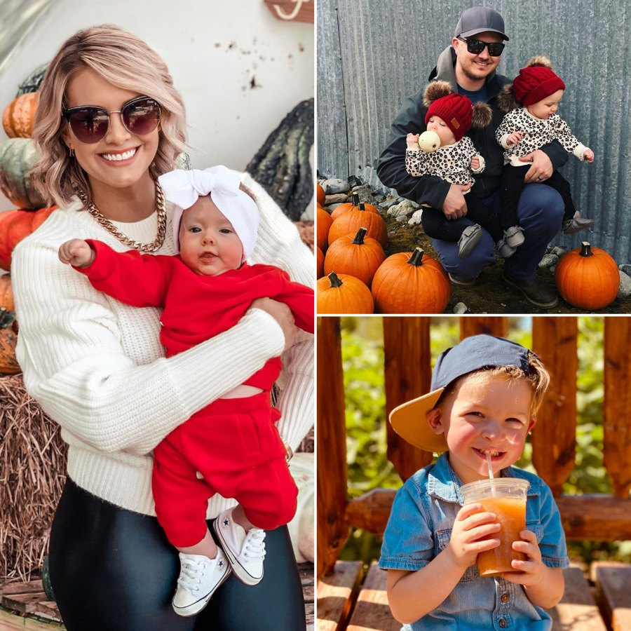 Celebrity Parents Visiting Pumpkin Patches With Their Kids in Fall 2020: Pics..