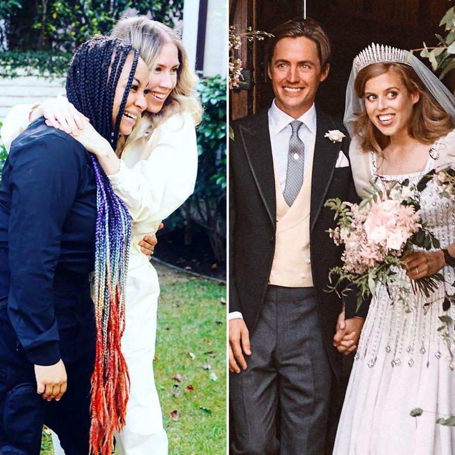 Celebrity Weddings 2020 Raven Symone Miranda May Princess Beatrice Edoardo Mapelli Mozzi
