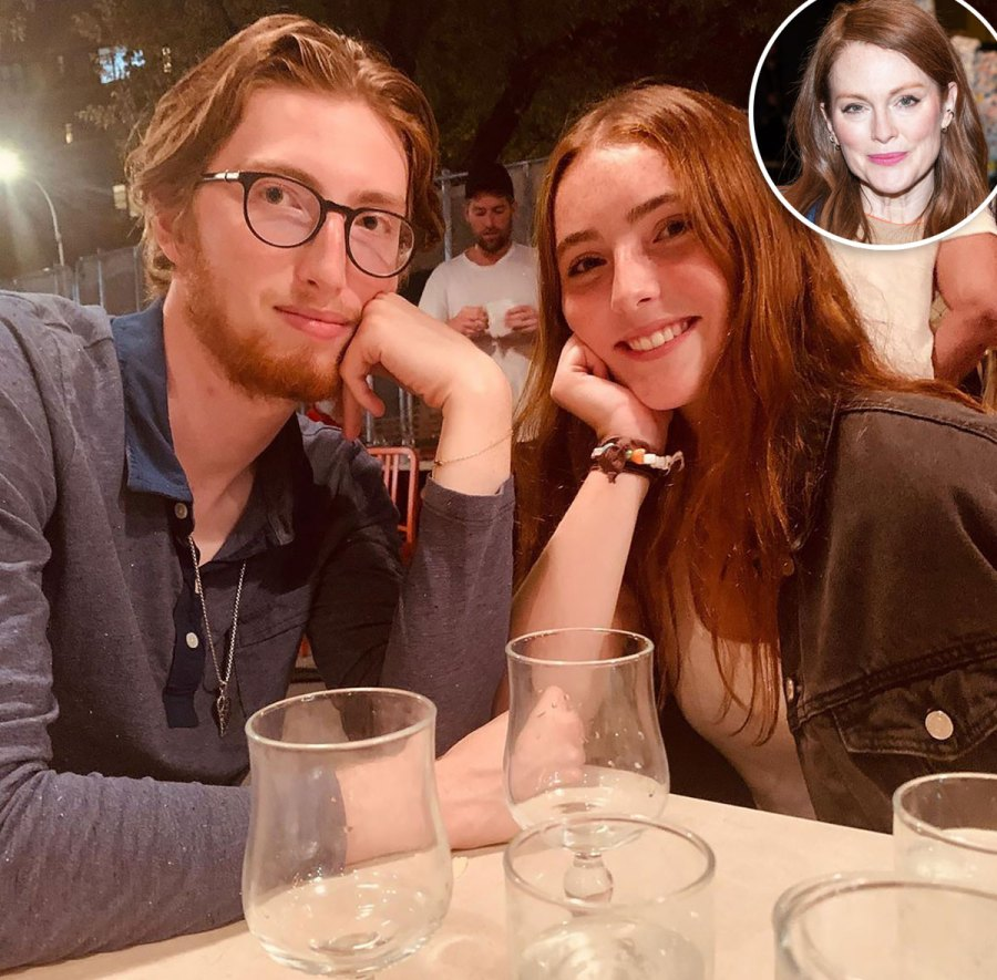 Julianne Moore Shares Sweet Shot of Look-Alike Kids Caleb and Liz