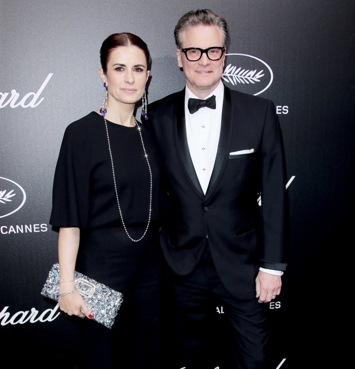 Colin Firth Estranged Wife Sends Birthday Wishes Partner in Crime