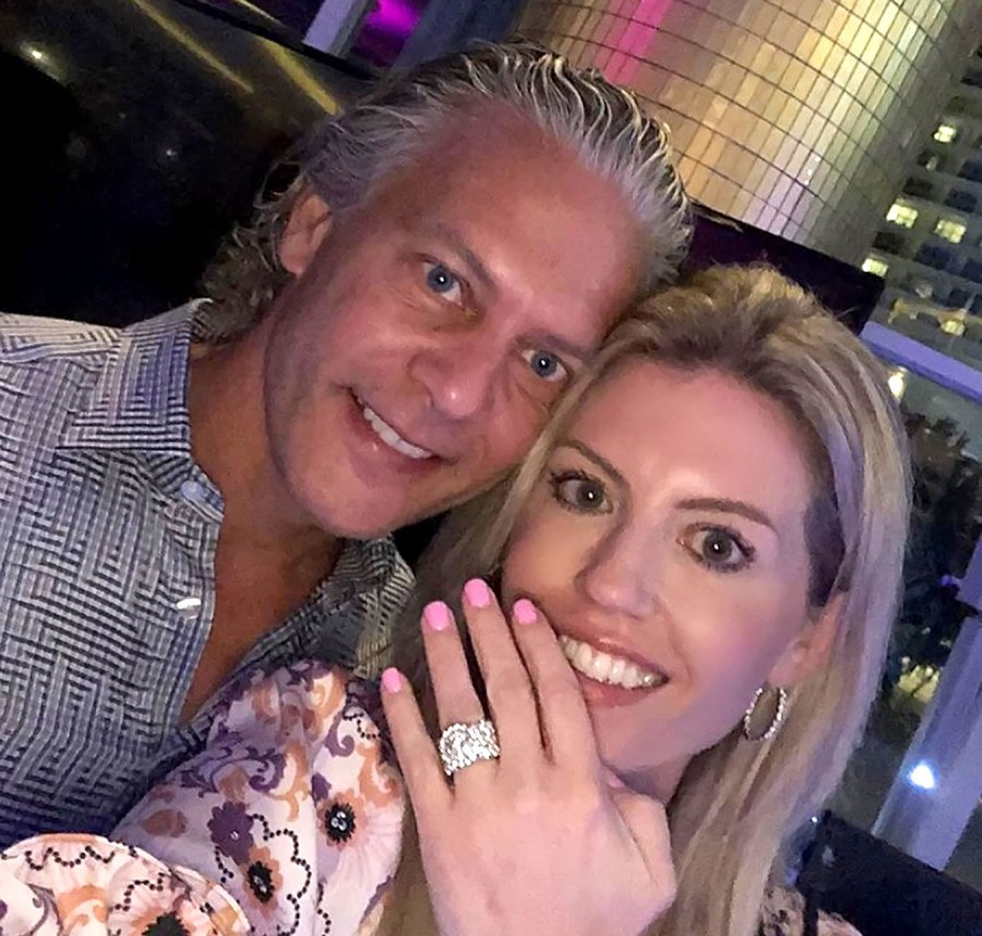 David Beador and Fiancee Lesley Cook Welcome Their 1st Child Together, His 4th