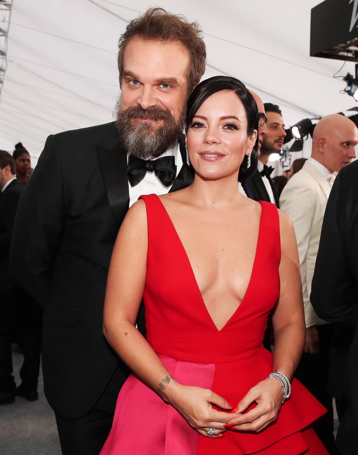 David Harbour Lily Allen Got Married in Las Vegas Ceremony