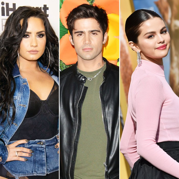 Demi Lovato Claims Old Tweets From Fiance Max Ehrich Gushing Over Selena Gomez Are Fake