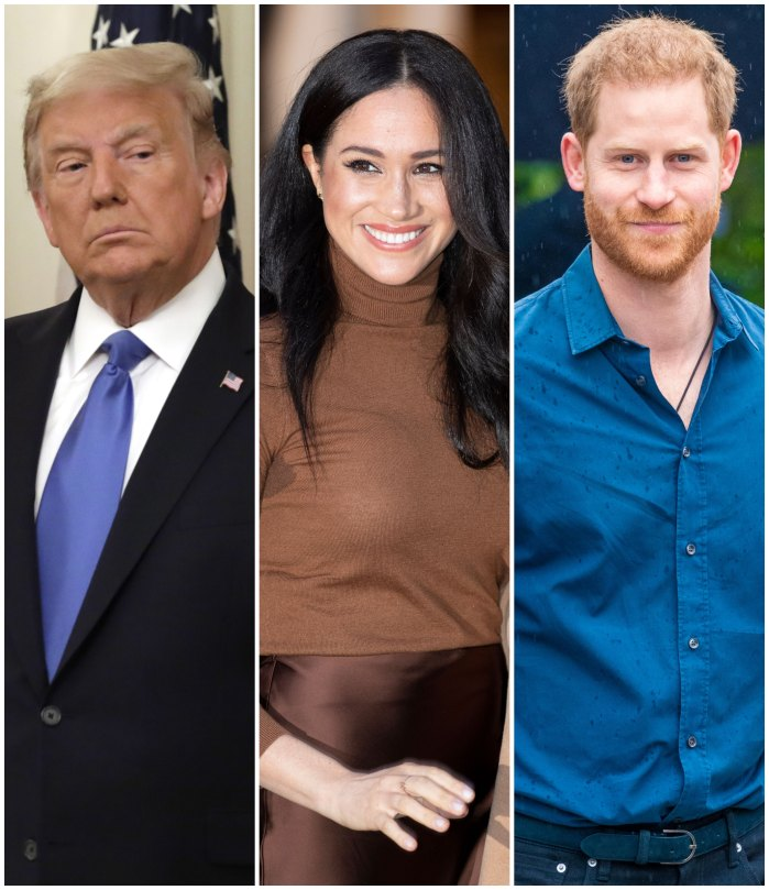 Donald Trump Slams Meghan Markle and Prince Harry After Their Statements on Voting