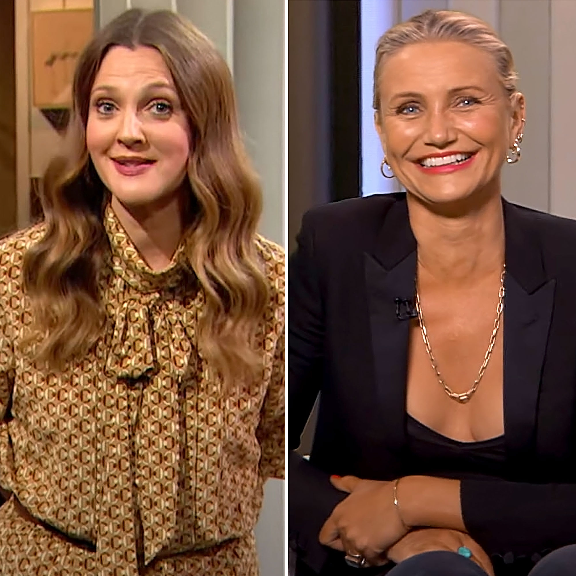 Drew Barrymore Gushes About Snuggling Cameron Diaz Daughter Raddix