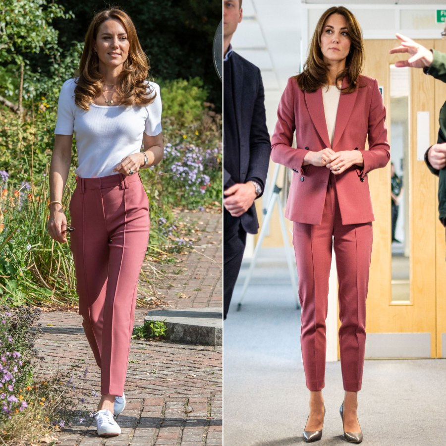 Duchess Kate Rewears These Tailored $59 Trousers — in a Totally New Way!