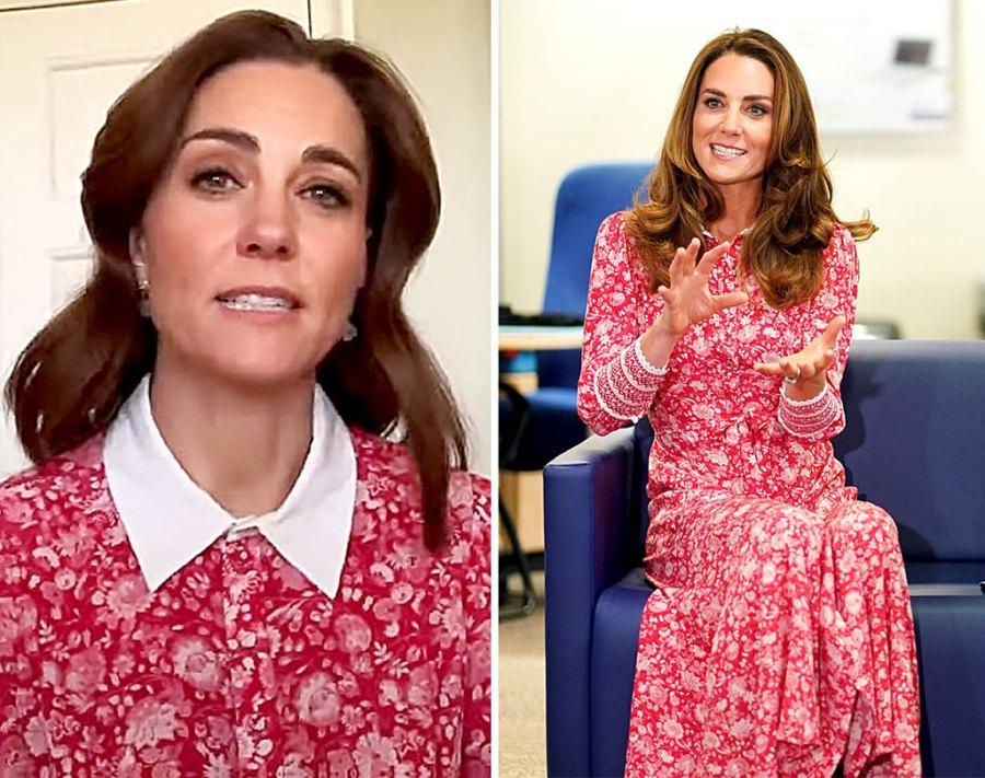 Duchess Kate Rewears 700 Floral Frock