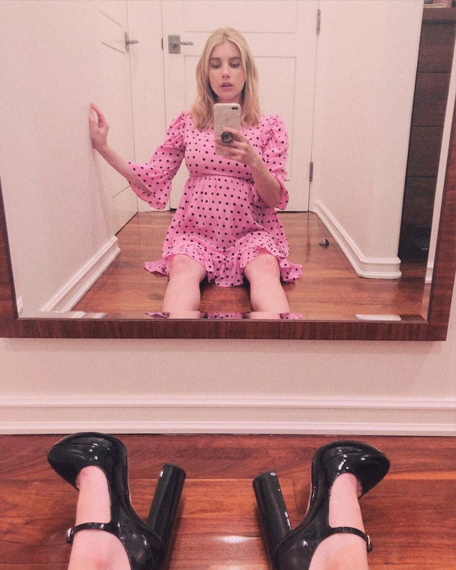Emma Roberts' Pregnancy Pics: See the Star's Baby Bump Album Ahead of 1st Child With Garrett Hedlund